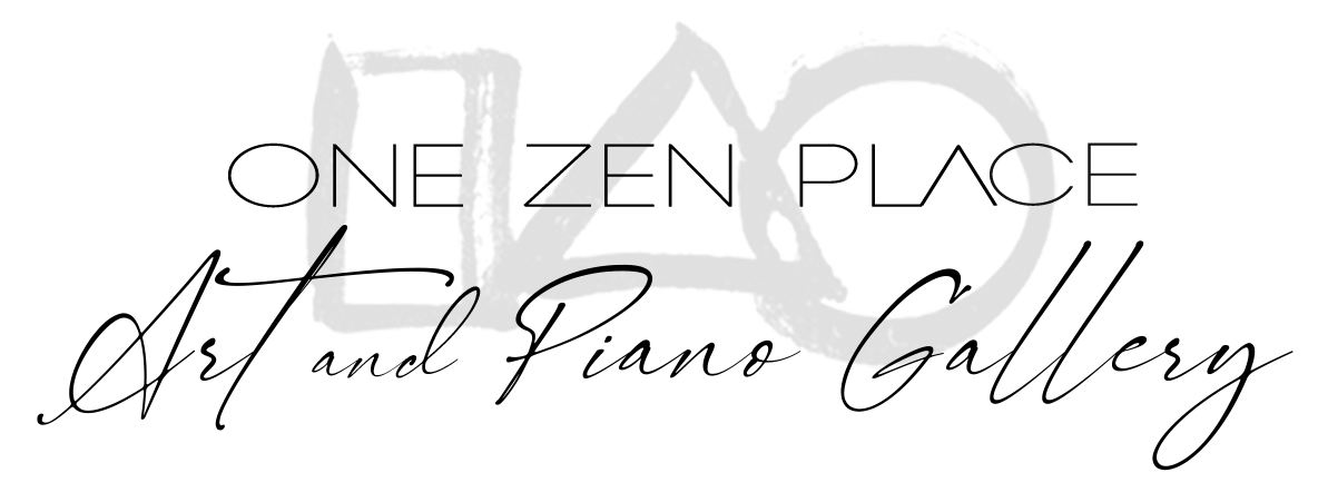 One Zen Place Art and Piano Gallery, Vero Beach Pianos, Vero Beach, Florida, Treasure Coast, Indian River County, fine art, paintings, sculpture, works-on-paper, digital media, photography, One Zen Place, Zen, Brushstroke paintings, Enso, Amy Dyson, art historian, John Ryan, composer, pianist, singer-songwriter, johnryanpiano, Yamaha, Bösendorfer, Schimmel, Sauter, acoustic piano, digital piano, hybrid piano, Enspire, Disklavier